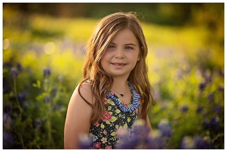The Woodlands Blue Bonnet Photographer