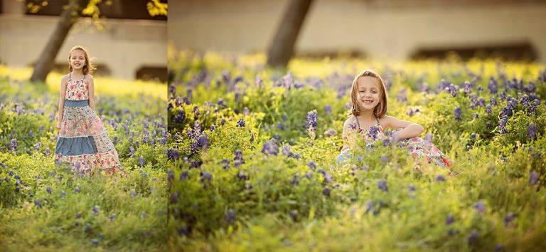The Woodlands Blue Bonnet Photographer