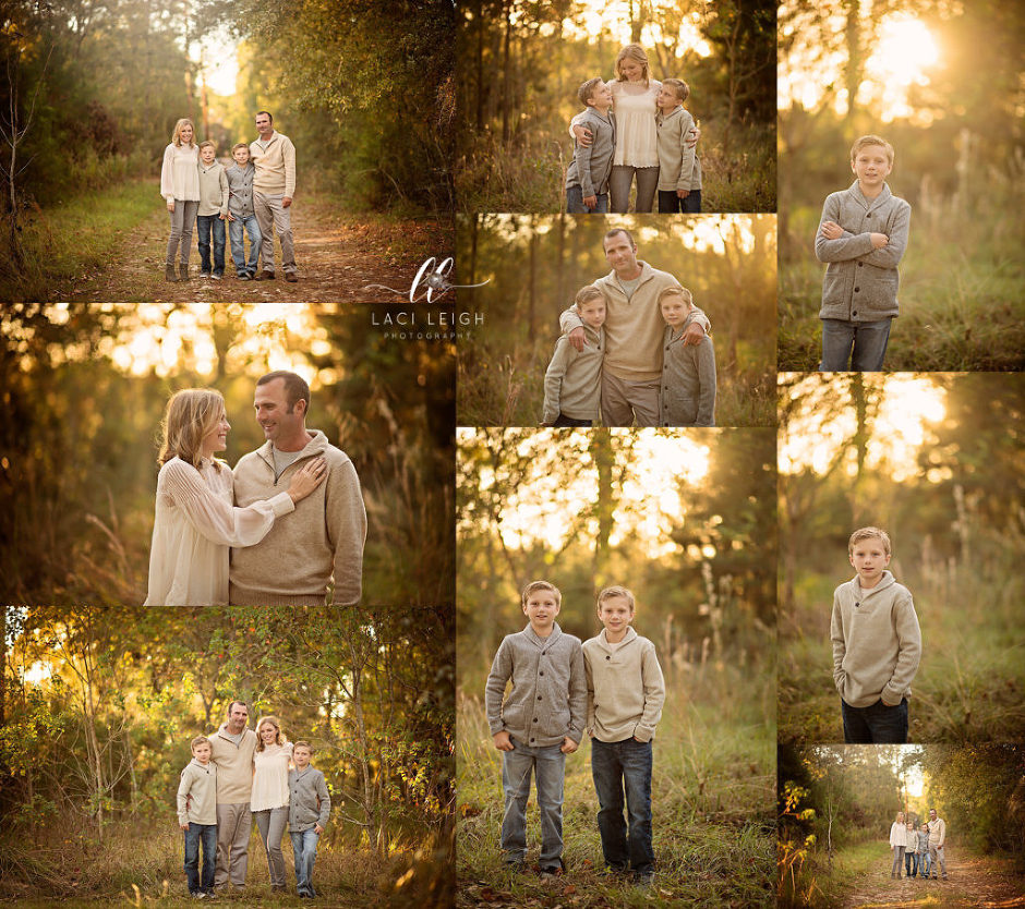 The Woodlands Outdoor Fall Photography