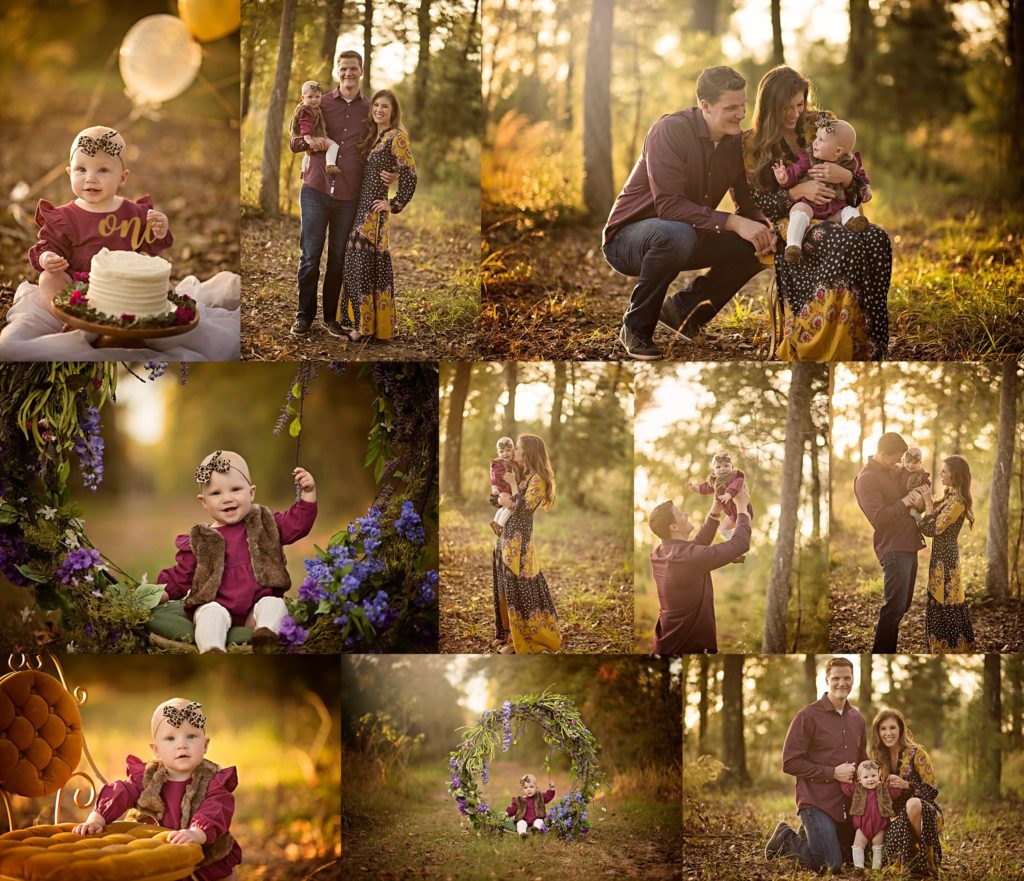 The Woodlands Child Milestone Photographer