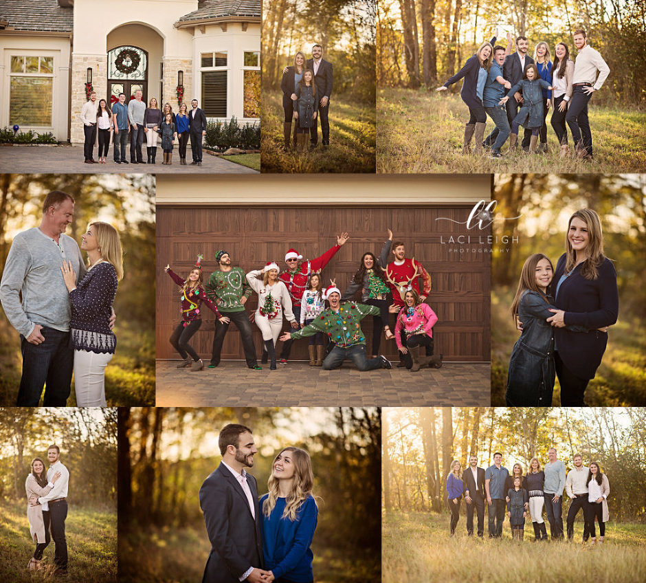 Woodlands Extended Family Photographer