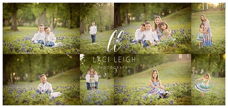 Woodlands Bluebonnet Photographer | Bluebonnet Mini Sessions