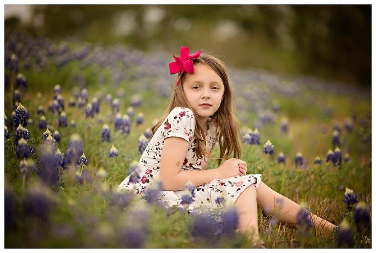 Woodlands Bluebonnet Photographer