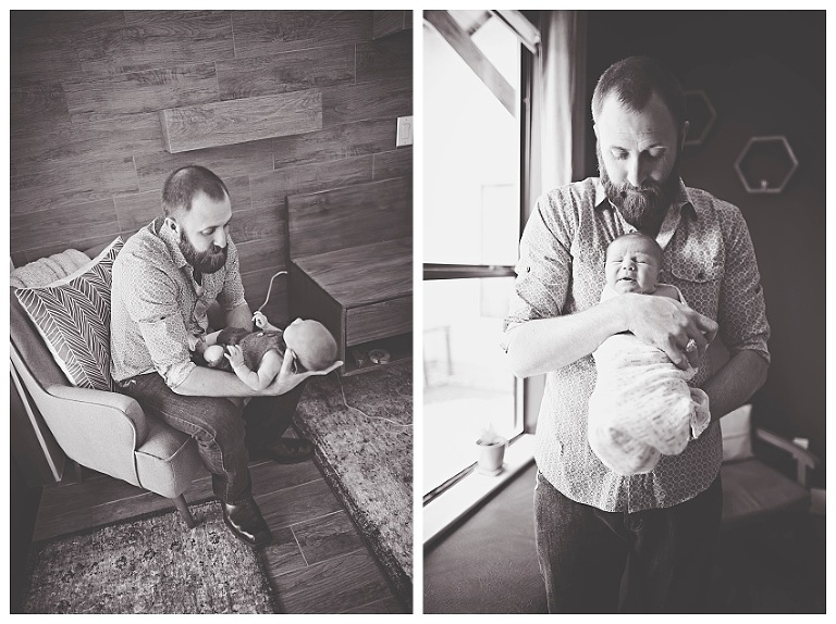 Lifestyle Newborn Photographer in The Woodlands