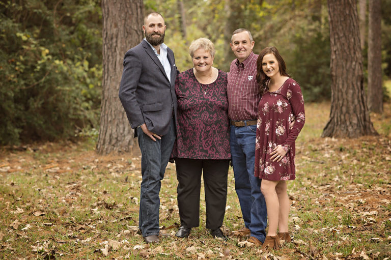 The Woodlands Extended Family Session