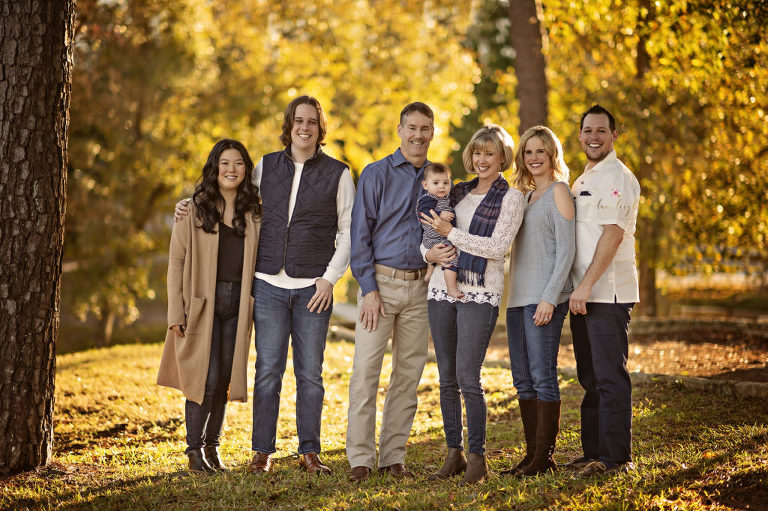 Extended Conroe Family Session