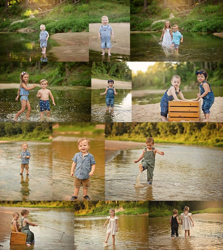 Creek Sessions - Family Photographer